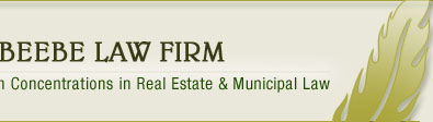 The Beebe Law Firm, A Law Firm with Concentrations in Real Estate & Municipal Law | Clifton Park